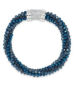Anne Klein® Blue Beaded Bracelet