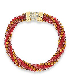 Anne Klein® Siam Beaded Bracelet