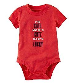 Carter's® Baby Boys Dad's Lucky Bodysuit