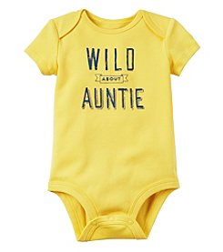 Carter's® Baby Boys' Wild About Auntie Bodysuit