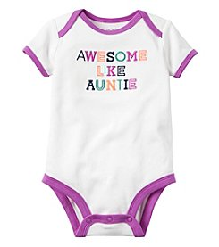 Carter's® Baby Girls' Awesome Auntie Bodysuit
