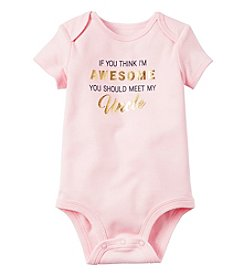 Carter's® Baby Girls' Awesome Uncle Bodysuit