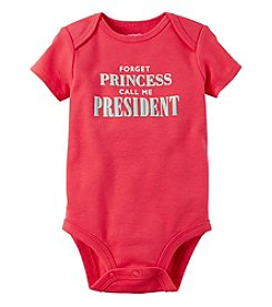 Carter's® Baby Girls' Call Me President Bodysuit