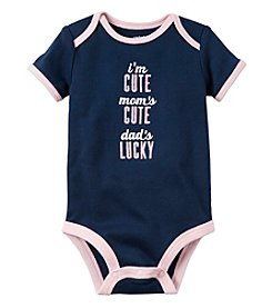 Carter's® Baby Girls' Dad's Lucky Bodysuit