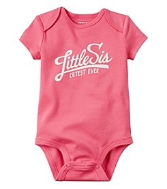Carter's® Baby Girls' Little Sis Bodysuit