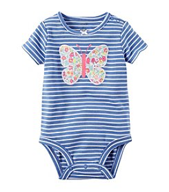 Carter's® Baby Girls' Floral Butterfly Bodysuit
