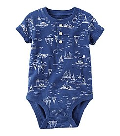 Carter's® Baby Boys Sailboat Henley Bodysuit