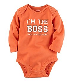 Carter's® Baby Boys The Boss Bodysuit