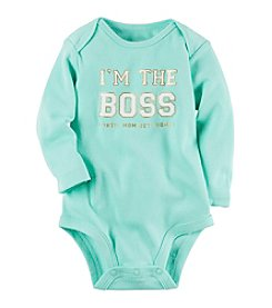 Carter's® Baby Girls' The Boss Bodysuit