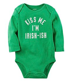 Carter's® Baby Boys Kiss Me I'm Irish-Ish Bodysuit