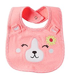 Carter's® Baby Girls' Sweet Puppy Bib