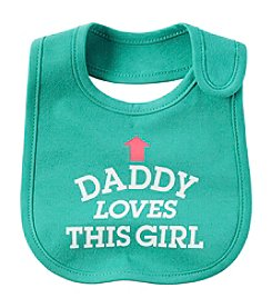 Carter's® Baby Girls' Daddy Loves This Girl Bib