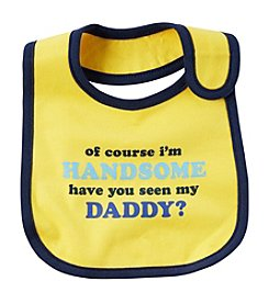 Carter's® Baby Boys' Of Course I'm Handsome Bib