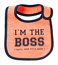 Carter's® Baby Boys' The Boss Bib