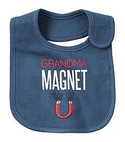 Carter's® Baby Boys' Grandma Magnet Bib
