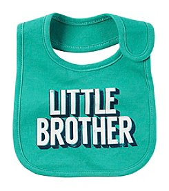 Carter's® Baby Boys Little Brother Bib