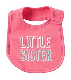 Carter's® Baby Girls' Little Sister Bib