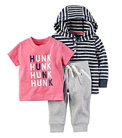 Carter's® Baby Boys 3-Piece Hunk Tee Set