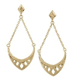 The Sak® Goldtone Trapeze Earrings