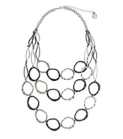 Erica Lyons® Triple Layer Chain Necklace