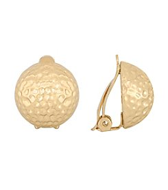 Gloria Vanderbilt™ Goldtone Stud Earrings