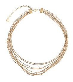 Gloria Vanderbilt™ Ball Chain Collar Necklace