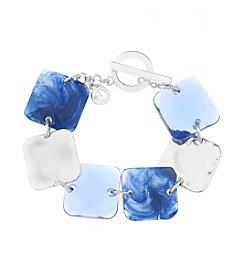 Gloria Vanderbilt™ Square Bead Flex Bracelet