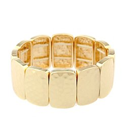 Gloria Vanderbilt™ Hammered Stretch Bracelet
