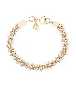 Gloria Vanderbilt™ Pearl Line Bracelet