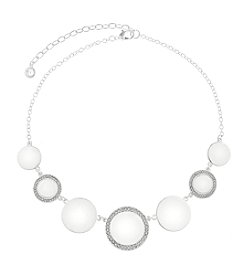 Gloria Vanderbilt™ Crystal Frontal Necklace
