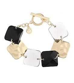 Gloria Vanderbilt™ Goldtone Line Bracelet