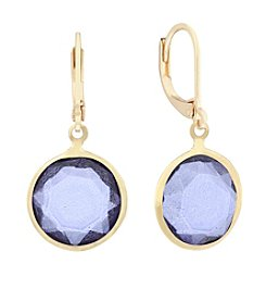 Gloria Vanderbilt™ Goldtone Drop Earrings