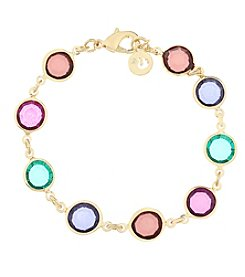 Gloria Vanderbilt™ Multicolored Stone Flex Bracelet