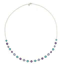 Gloria Vanderbilt™ Multicolor Strand Necklace