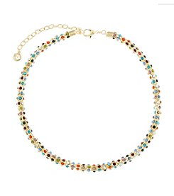 Gloria Vanderbilt™ Multicolor Collar Necklace