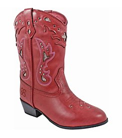 Jessica Simpson Girls' Starlet Burnished Western Boots