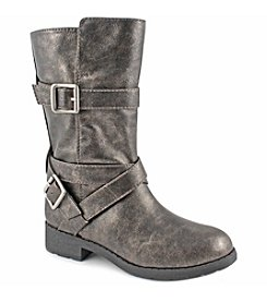 Jessica Simpson Girls' Metallic Boots