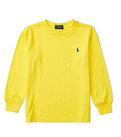 Polo Ralph Lauren® Boys' 2T-7 Long Sleeve Crew Tee