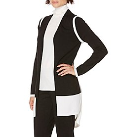 Rafaella® Colorblock Cardigan