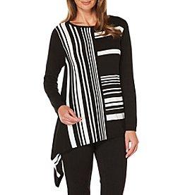 Rafaella® Combo Stripe Pullover