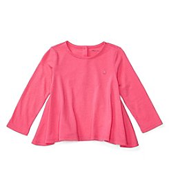 Ralph Lauren® Baby Girls' Long Sleeve Flare Top