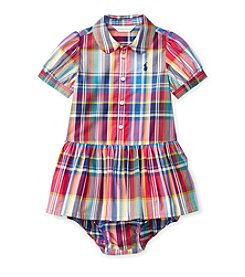 Ralph Lauren® Baby Girls' Plaid Dress