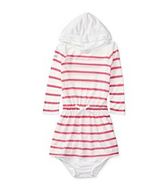 Ralph Lauren® Baby Girls' Striped Hooded Dress