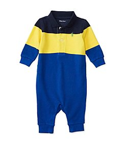Ralph Lauren® Baby Boys' Colorblocked Coverall