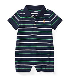 Ralph Lauren® Baby Boys' Striped Polo Shortall