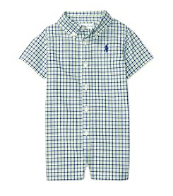 Ralph Lauren® Baby Boys Checked Shortall