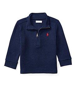Ralph Lauren® Baby Boys' 1/2-Zip Pullover