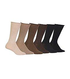 Polo Ralph Lauren® 6-Pack Lightweight Rolltop Trouser Socks