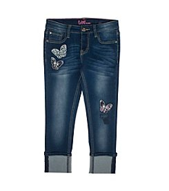 Lee® Girls' 7-16 Butterfly Crop Jeans