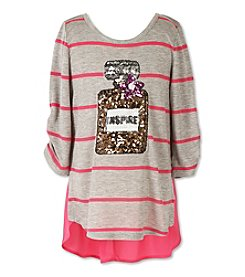 Speechless® Girls' 7-16 Sequin Perfume Top